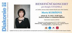pozvánka Marta Kubišová